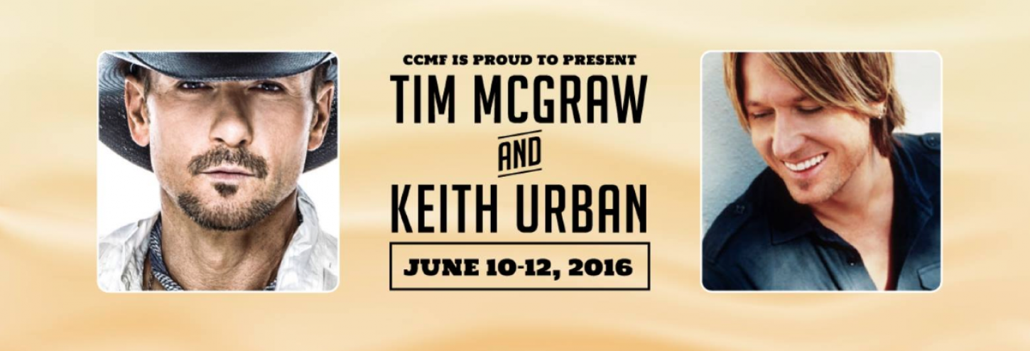 Tim McGraw and Keith Urban