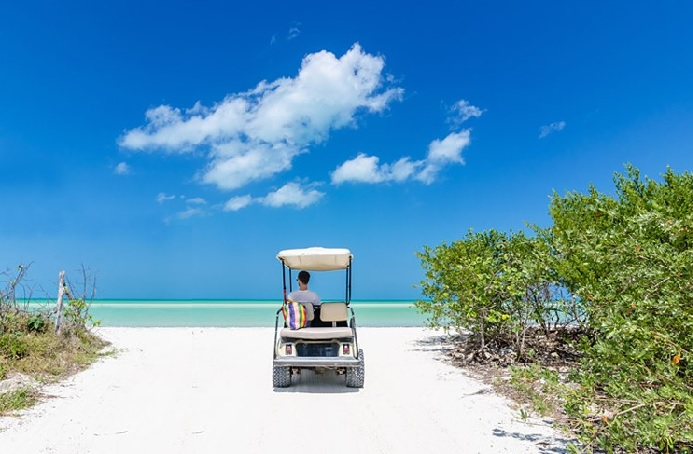 Book Your Vacation And Receive A Complimentary 4 Seater Golf Cart Offer Valid On New Weekly Reservations Booked For Arrival Now Through June 22nd